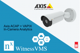 Axis ACAP + VAPIX In-Camera Analytics