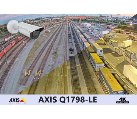 Уличная сетевая цилиндрическая камера со встроенной технологией Lightfinder 2,0  4-кратным зумом и разрешением 10 Мп