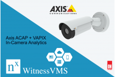 Axis ACAP + VAPIX In-Camera Analytics