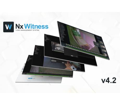 Nx Witness VMS 4.2 - Доступно уже сегодня!