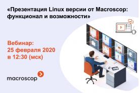 Macroscop берет курс на импортозамещение - что ждать от версии Macroscop 3.0