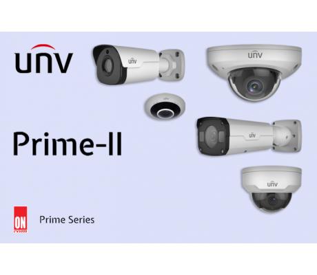 IP-камеры UNV серии Prime II  - высокотехнологичное решение для обеспечения безопасности