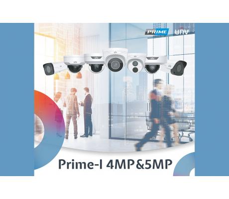 IP-камеры UNV серии Prime-I 4 MP & 5 MP