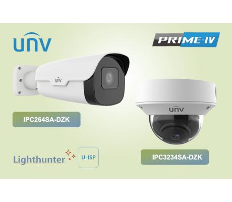 IP-камеры UNV серии Prime IV - максимальная эффективность видеоаналитики в реальной обстановке