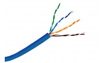 Кабель для передачи данных (LAN)  использование внутри помещений U/UTP Cat 5e PVC 4x2х0,52х305