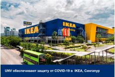 Температурно-измерительные терминалы UNV обеспечивают защиту от COVID-19 в  IKEA, ...