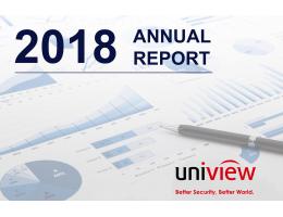 Годовой отчет Uniview 2018: выручка в размере 607 миллионов долларов США и рост 31,3%