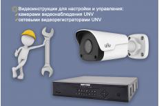 Настройка сетевых камер видеонаблюдения и сетевых видеорегистраторов UNIVIEW – вид...